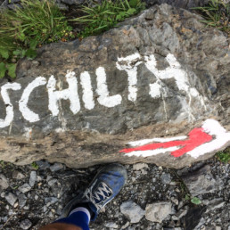 on the way to Schilthorn, somewhere during the climb