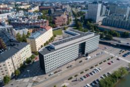 Sörnäinen, the Finnish national agency for education building, Helsinki