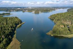 The strait between Ramsinniemi and Vartiosaari.