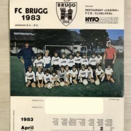 My first squad, FC Brugg.