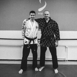 I just had received my second black belt in Hapkido.