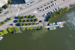 Small cruise boat dock, Helsinki