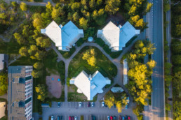 Vuosaari rooftop, triplet