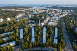Vuosaari rooftop, wedge