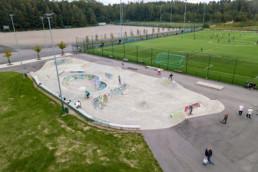 Skate park Kartanon kenttä, Vuosaari.