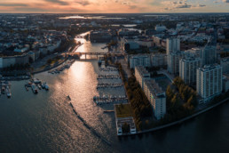 Bridges connecting Helsinki's south with its north.