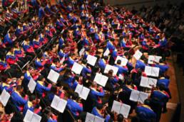 Gustavo Dudamel and the Orquesta Sinfonica Simon Bolivar