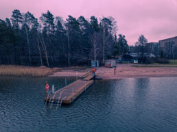 Rastilan uimaranta, 25.12.2019