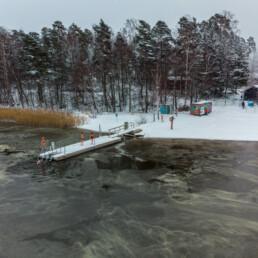 winter swimming 2.1.2021