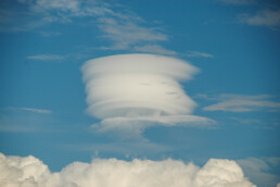 Then there was this cloud.