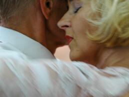 Finnish tango dance contestants during the Tangomarkkinat.