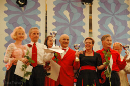 And the winners in the category seniors Finnish national champions are: Anne Vahvelainen and Kari Mielonen, 2nd Merja Kimari and Pekka Niska and 3rd Meri Nykänen and Reijo Lehtinen.
