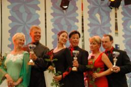 And the winners in the open category are: Johanna Lahtinen and Frans Kärki, 2nd Eija Puranen and Ari Vaskelainen and 3rd Heidi Pohjola and Heikki Teljamo.
