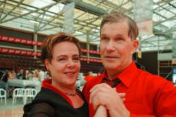 Merja Kimari and Pekka Niska, 2nd in the senior category.