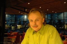 Harri Kaitila in Helsinki after we recorded his performance Siks oon mä suruinen.