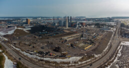 March 21, 2021 - Bioenergy heating plant