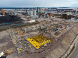 May 4, 2021 - Bioenergy heating plant
