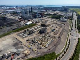 June 19, 2021 - Bioenergy heating plant