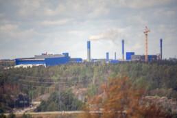 Itä-Vantaan jätevoimala, kehä kolmosen vieressä. Kuvia Vuosaaren huipun kävelylenkiltä.